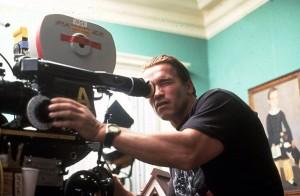 Арнольд Шварценеггер в 1992 году на съемках фильма «Рождество в Коннектикуте», 45 лет