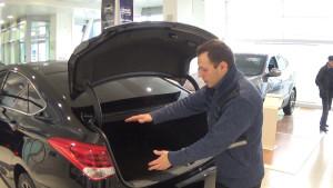 Hyundai i40 (багажник)