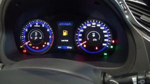Hyundai i40 (щиток приборов)