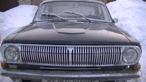 ГАЗ 24_ вид спереди