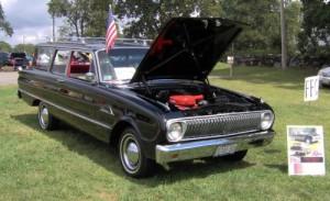 1963-1964г Форд Falcon с решеткай как у Газ 24