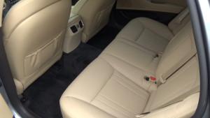 Hyundai Genezis_задний ряд сидений