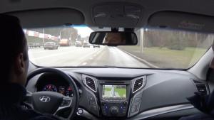 Hyundai i40 (2015 г.в.) интерьер