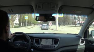 Hyundai Tucson 2015 передняя панель_