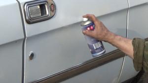 ГАЗ 3110 покраска из баллончика