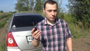 Дмитрий МаГ с ключом от Чери Фора