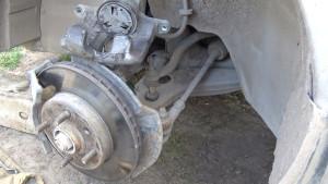 диск переднего тормоза