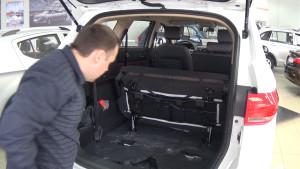 Lifan My Way багажник со сложенным рядом