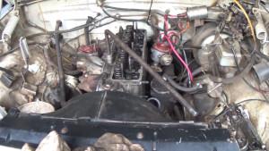 ГАЗ 3110 1999 г.в. двигатель в разборе