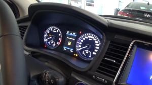 Hyundai Sonata 2017_ щиток приборов