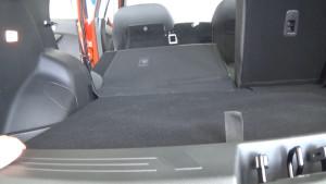 Lifan X70 2018 _ багажник со сложенным сиденьем