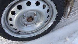 колесо с новым диском_