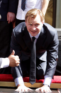 Christopher Nolan Hands and Footprints ceremony